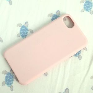Used pink iPhone 6/6s case